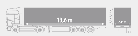 refrigerated / BOX TRAILER