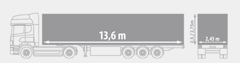 Tilt Trailer / Curtain side